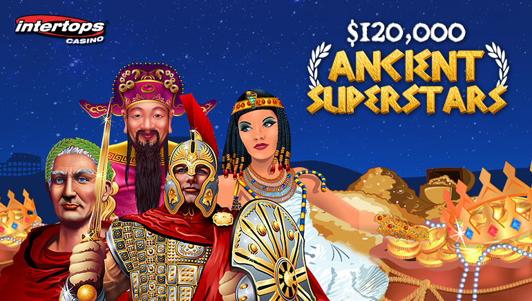 $120,000 in Prizes up for Grabs in Intertops Ancient Superstars Tourney