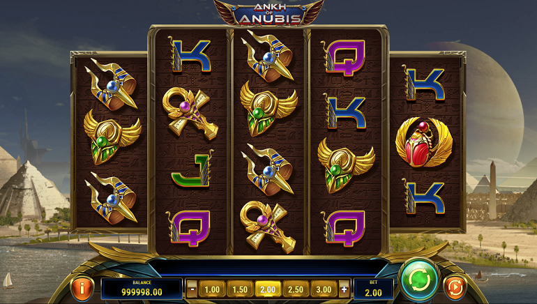 Play'n GO Releases New Slot, Ankh of Anubis