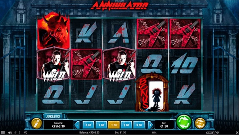 Annihilator Slot Goes Solo at Play'n GO Casinos