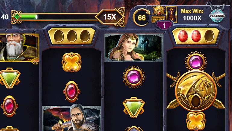 Fight for Dragon Throne with Age of Ice Dragons Slot by Kalamba