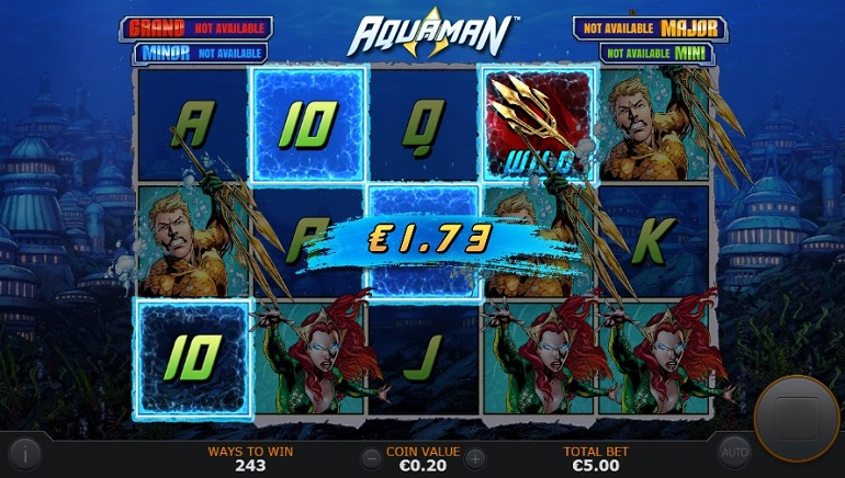 Slot Review: Aquaman by Playtech