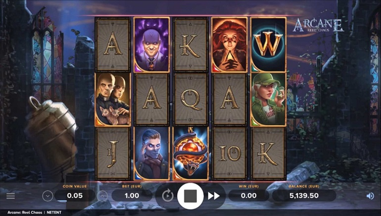NetEnt Casts Magic with Arcane Reel Chaos Slot