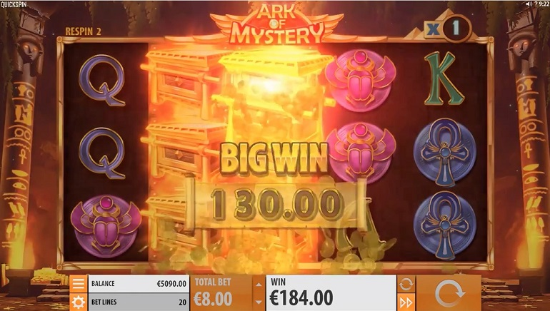 Slot Review: Ark of Mystery by Quickspin
