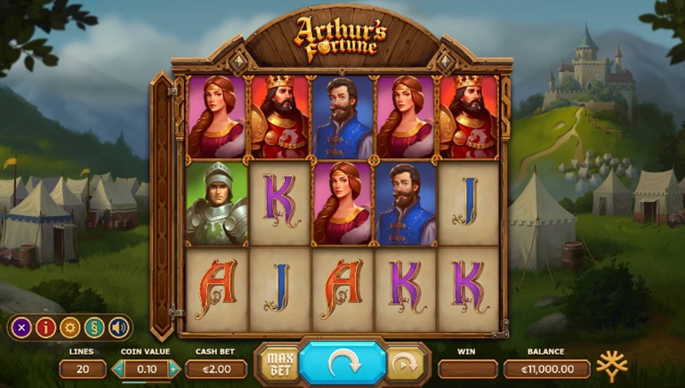 Slot Review: Arthur's Fortune by Yggdrasil Gaming