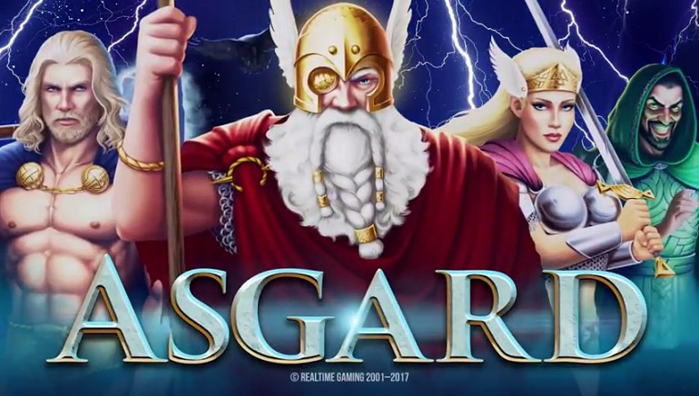 Realtime Gaming's Thor-Themed Asgard Slot Releases