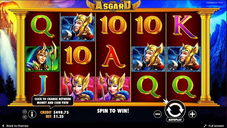 The Viking Gods Strike with Asgard Slots from Pragmatic Play