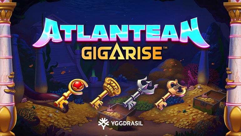 Discover A Lost City With Yggdrasil's New Atlantean Gigarise Online Slot