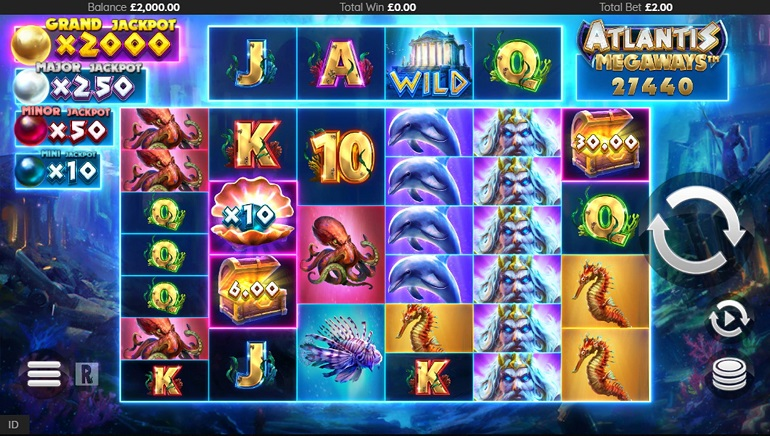 Slot Review: Atlantis Megaways by ReelPlay