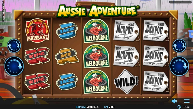 Head Down Under With The Aussie Adventure Slot From Realistic Games