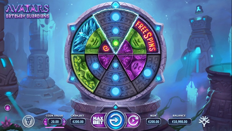 Yggdrasil Explores Space in Avatars: Gateway Guardians Slot