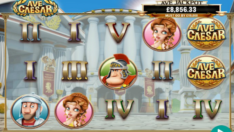 Hail the New Ave Caesar Slot from Leander