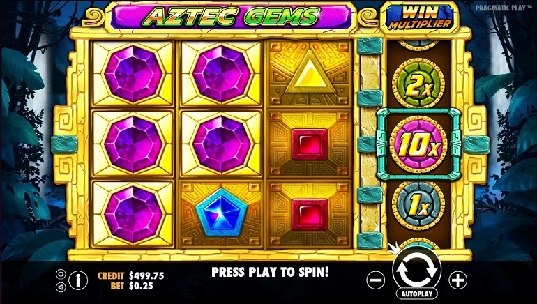 Take a Jungle Adventure With Pragmatic Play's Aztec Gems