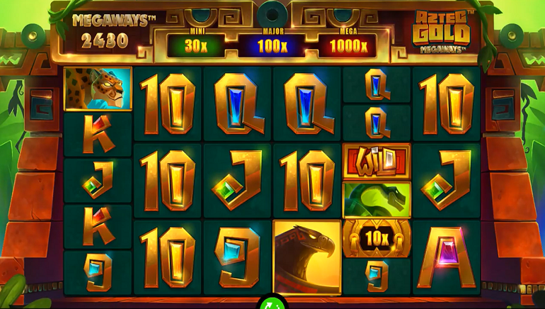 Head To Ancient Times With The New Aztec Gold Megaways Slot From iSoftBet