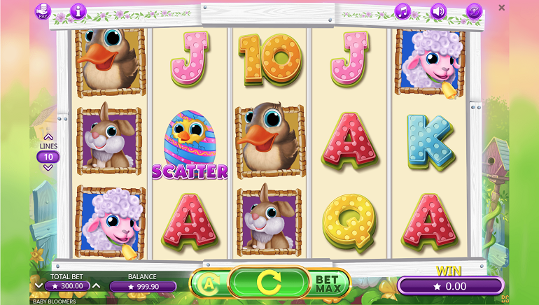Spingtime Is Here with The Baby Bloomers Slot From Booming Games