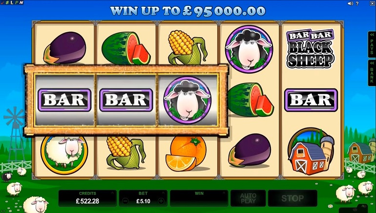 Microgaming's Makeover for Bar Bar Black Sheep Releases Today