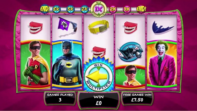 Playtech's Classic Batman TV Series-Themed Slots Coming This Year