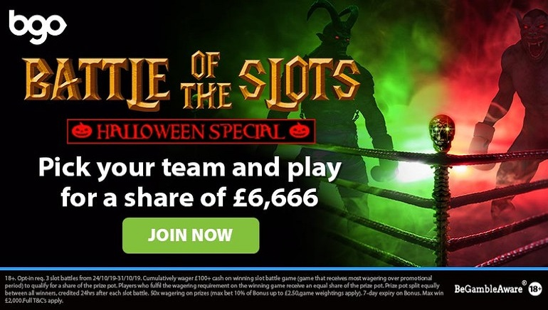 Fight for Prizes in Spooky Halloween Battle of Slots at bgo Casino