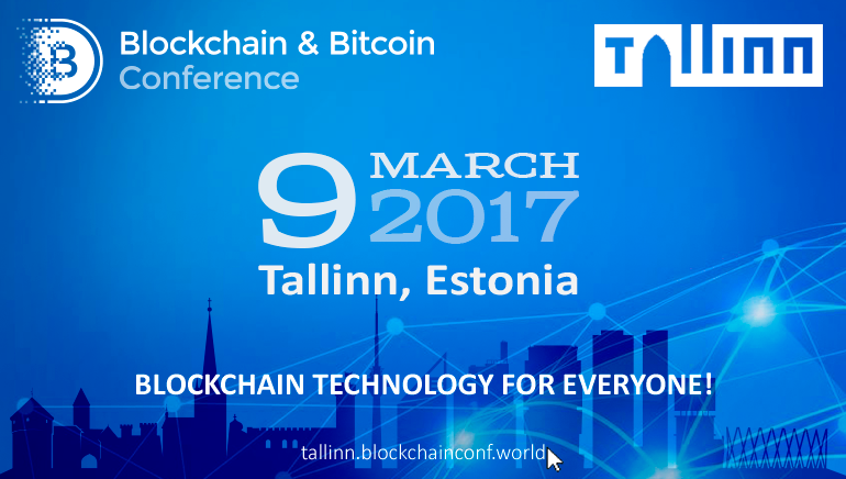 Bitcoin & Blockchain Conference Comes to Tallinn in March