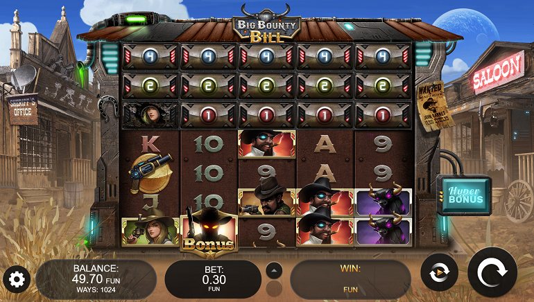 Big Bounty Bill Slot Fires into Action from Kalamba Games