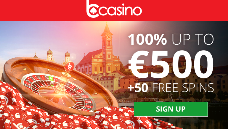 bCasino Offers Big 1st Deposit Bonus up to €500 and 50 Free Spins