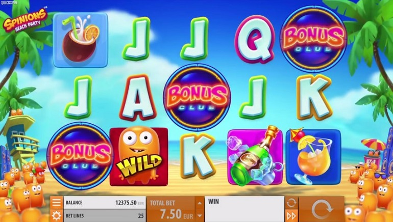 Quickspin's Spinions: Beach Party Slot Launched