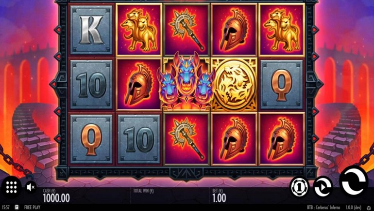 Thunderkick Unleashes A Mythical Monster With New Beat The Beast: Cerberus' Inferno Slot