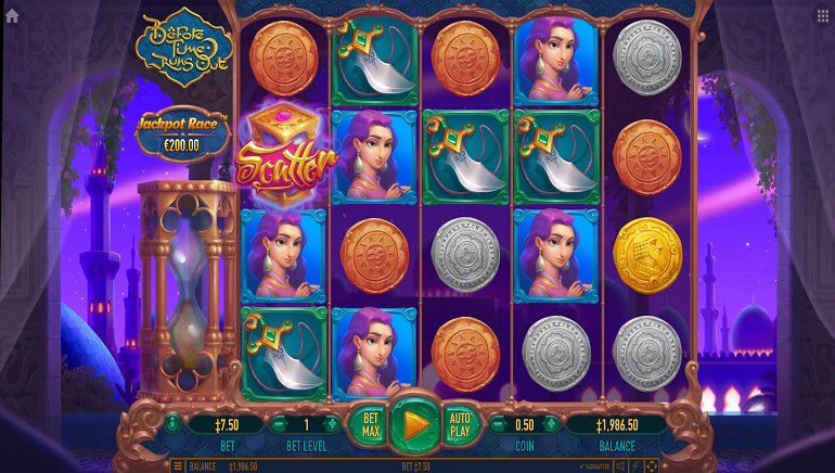 Before Time Runs Out Slot From Habanero Takes Players On An Arabian Adventure