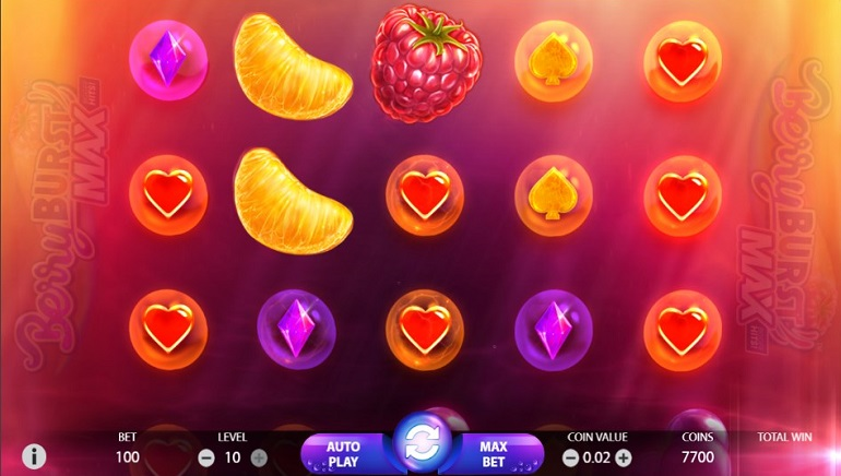 NetEnt's New Berryburst™ Slot Uses Cluster Pays™ Mechanics