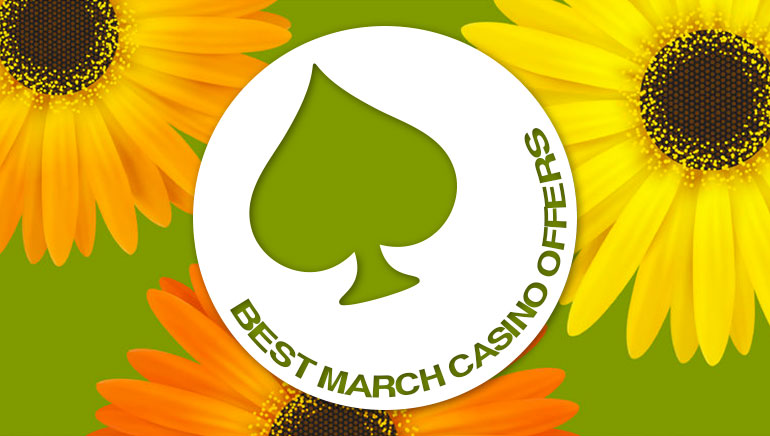 Best Online Casino Promotions For March 2016