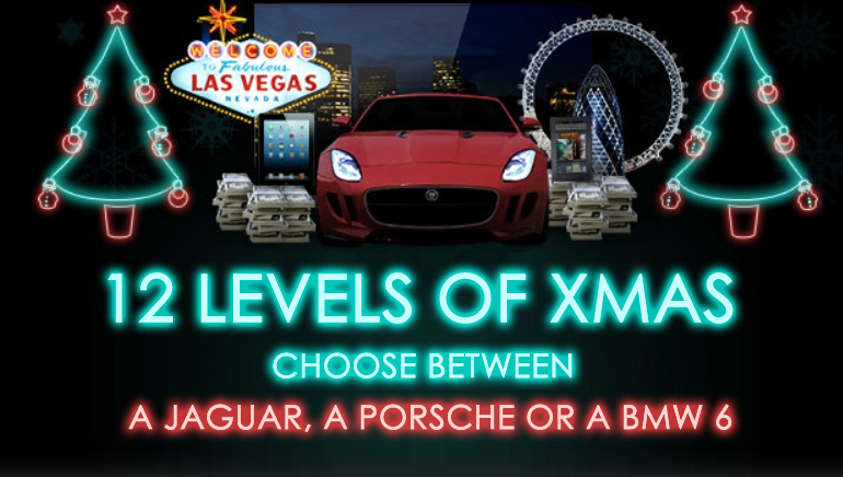 12 Levels of Christmas and Amazing Prizes at Bet365 Casino