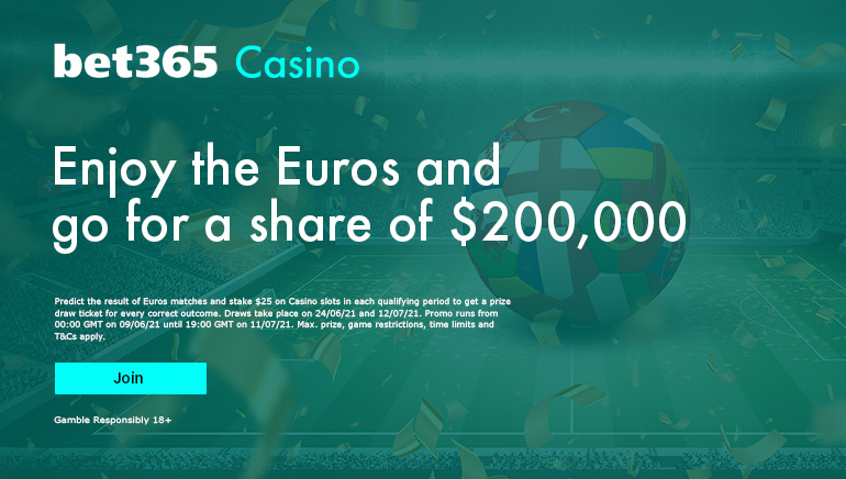 Bet365 Euro 2020 special offering for new players