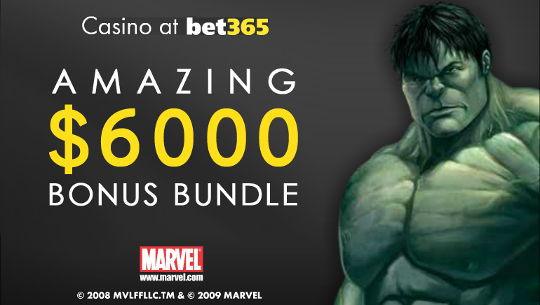 Over $6,000 in September Deposit Bonuses at bet365