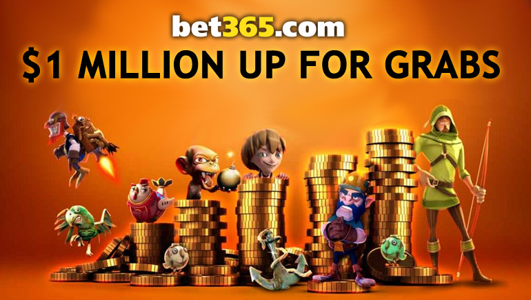 Bet365 Games Giving Away £1 Million This February