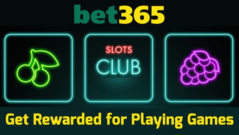 Get Rewarded at bet365 Casino's Slots Club