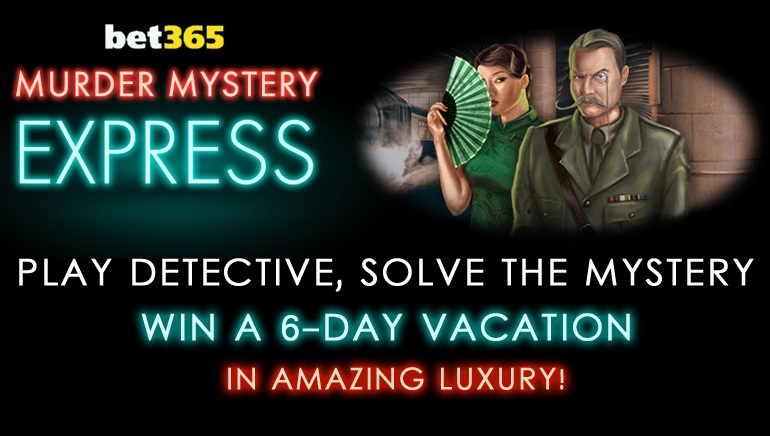 Bet365's Murder Mystery Promo Sends Players to Europe