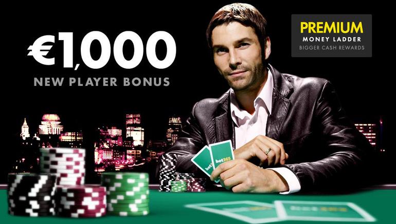 Get a €1000 Welcome Bonus From bet365 Poker