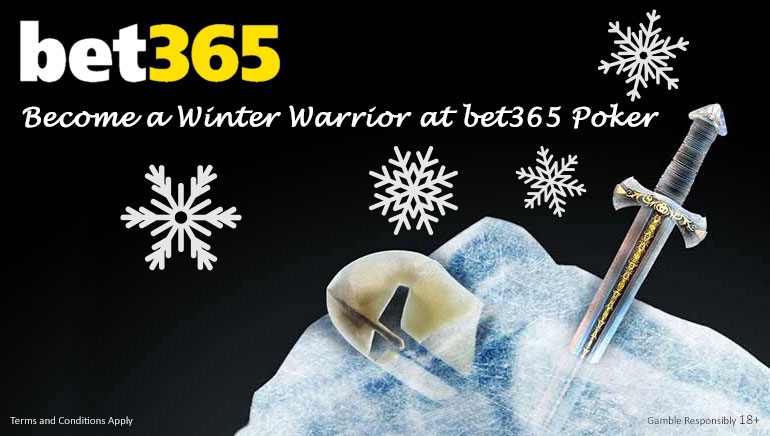Challenge Yourself With bet365 Poker's Winter Warrior Promo