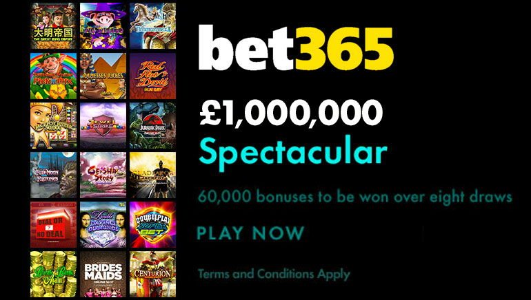 Loadsa Prizes in the bet365 Spectacular Promotion This December