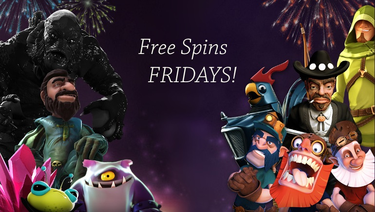 March Monthly Wagers and Free Spins Friday at BETAT