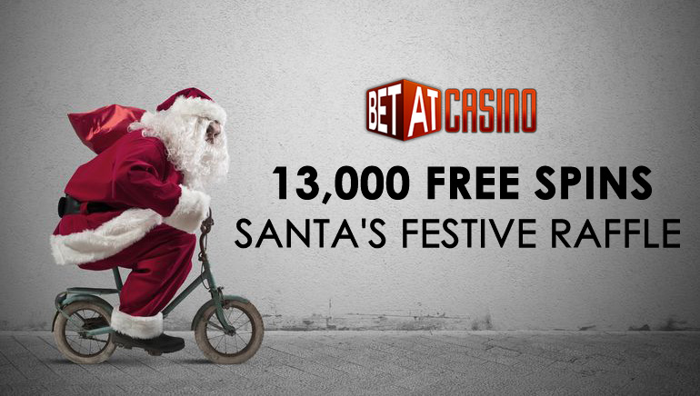Santa's Bag is Filled with 13,000 Free Spins at BETAT Casino