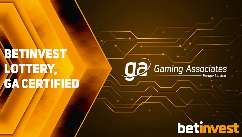 Betinvest's Lottery Platform Certification from Gaming Associates, Ltd. Could Revolutionise Gaming