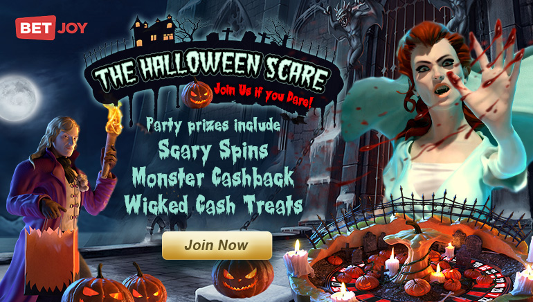 Check Out BETJOY's Sweet Halloween Promos