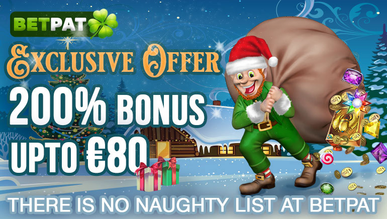 Betpat Casino Offering Exclusive Xmas Welcome Bonus