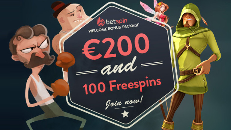Start Big with Betspin Casino's Generous Welcome Bonus