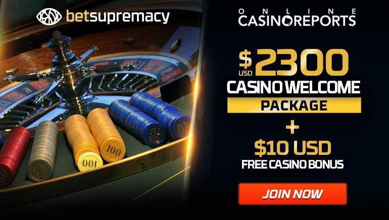 Claim an Exclusive $2300 Welcome Package at BetSupremacy + $10 Free