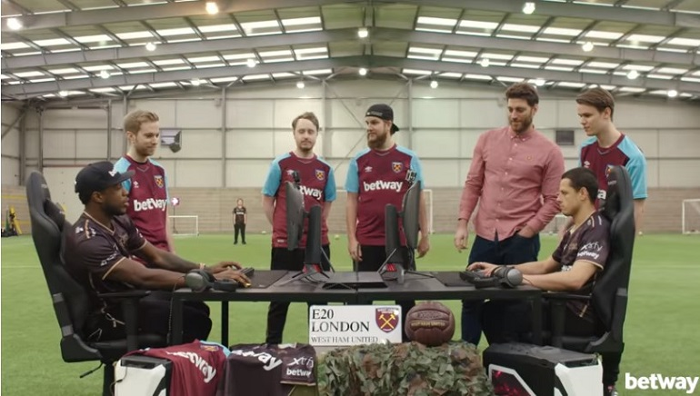 Betway Brings West Ham and Ninjas in Pyjamas Together for an Exciting CS:GO Challenge