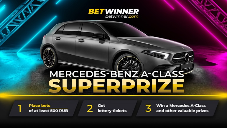 Place Your Bets for a Chance to Win a Mercedes at BetWinner