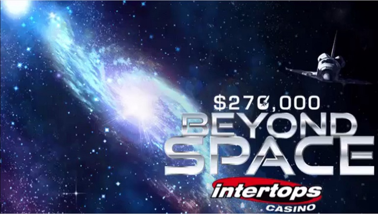 Intertops' Beyond Space Promotion Offers $270,000 Prize Pool