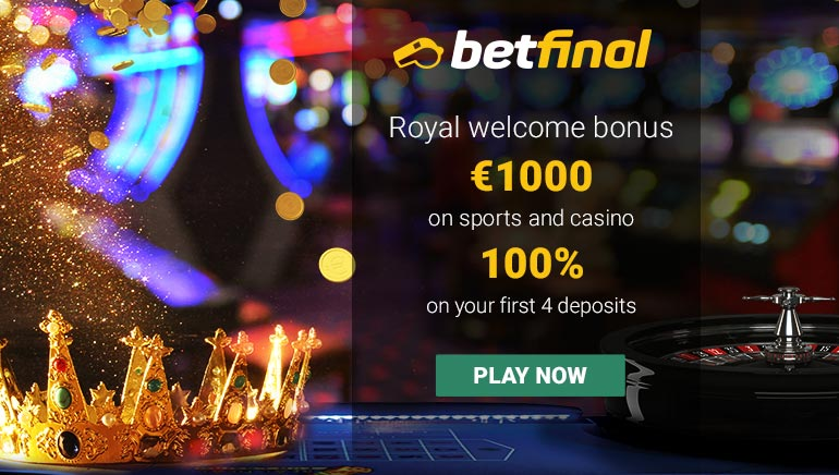 Exclusive Offer at Betfinal Casino: 100% up to €1,000
