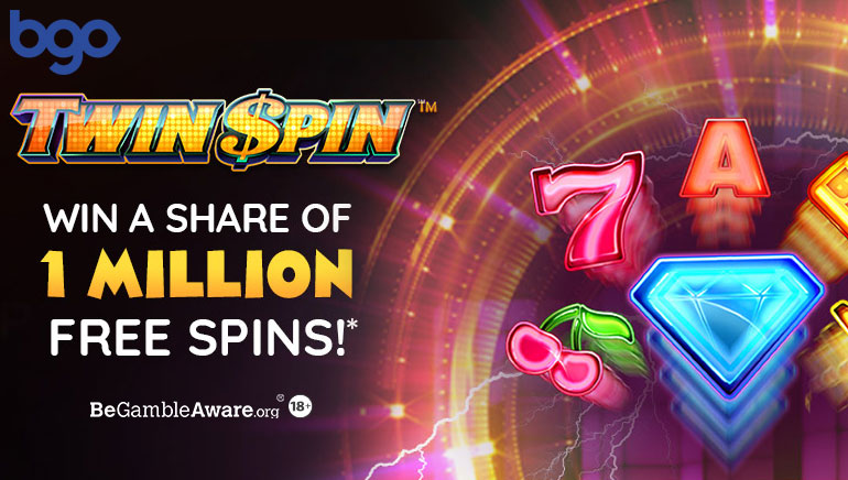 bgo Casino Giving Away 1 Million Free Spins on Twin Spin